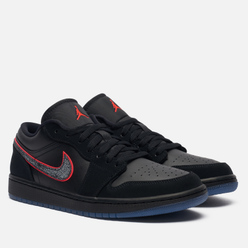 Мужские кроссовки Jordan Air Jordan 1 Low SE Black/Black/Red Orbit