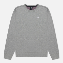 Мужская толстовка Nike SB Skate Crew Dark Grey Heather/White