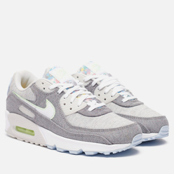 Мужские кроссовки Nike Air Max 90 NRG Recycled Canvas Vast Grey/White/Barely Volt