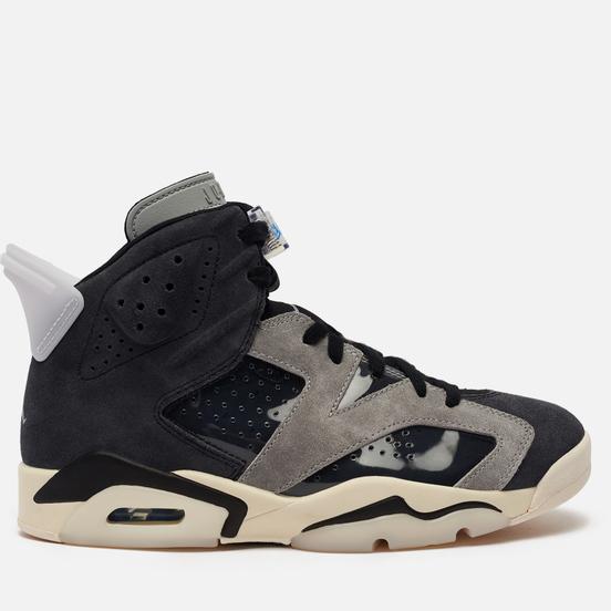 Женские кроссовки Jordan Air Jordan 6 Retro Black/Chrome/Light Smoke Grey/Sail