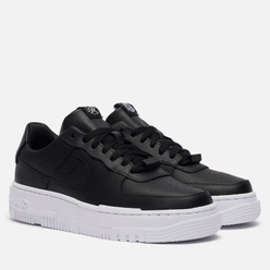 Женские кроссовки Nike Air Force 1 Low Pixel Black/Black/White/Black