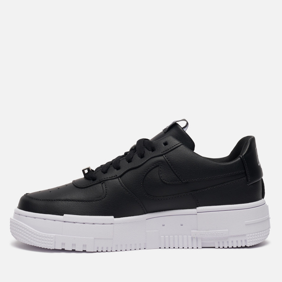 Женские кроссовки Nike Air Force 1 Low Pixel Black/Black/White/Black