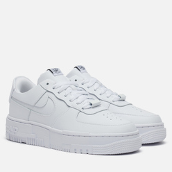 Женские кроссовки Nike Air Force 1 Low Pixel White/White/Black/Sail