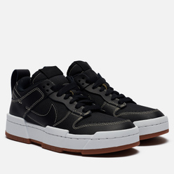 Кроссовки Nike Wmns Dunk Low Disrupt Black/Black/Fossil/Gum Med Brown