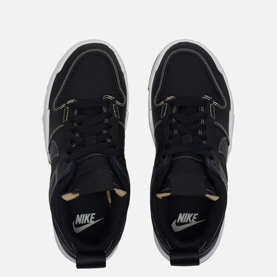 Мужские кроссовки Nike Wmns Dunk Low Disrupt Black/Black/Fossil/Gum Med Brown