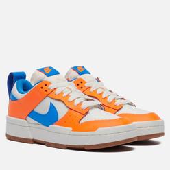 Женские кроссовки Nike Dunk Low Disrupt Sail/Light Photo Blue/Total Orange