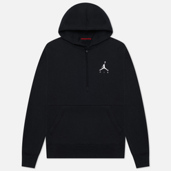 Мужская толстовка Jordan Jumpman Air Fleece Hoodie Black/Black/Black/White