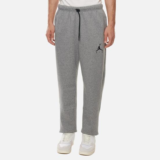 Мужские брюки Jordan Jumpman Air Fleece Carbon Heather/Carbon Heather/Black