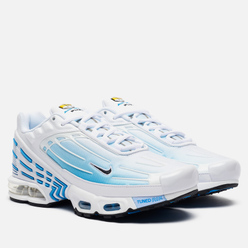 Мужские кроссовки Nike Air Max Plus III White/Black/Laser Blue/Enigma Stone