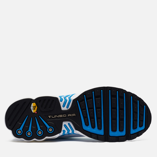 Мужские кроссовки Nike Air Max Plus III White/Black/Laser Blue/Enigma Stone