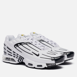 Кроссовки Nike Air Max Plus III Leather White/Black/White/Chile Red
