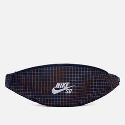 Сумка на пояс Nike SB Heritage Hip All Over Print Midnight Navy/Midnight Navy/White