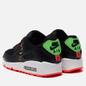 Кроссовки Nike Wmns Air Max 90 Worldwide Pack Black/Black/Flash Crimson/Green Strike фото - 2