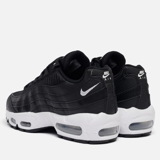 Женские кроссовки Nike Air Max 95 Black/White/Black