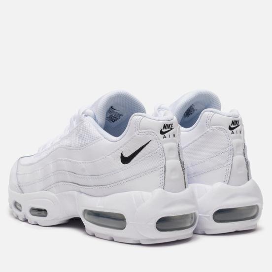 Женские кроссовки Nike Air Max 95 White/Black/White
