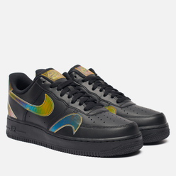 Мужские кроссовки Nike Air Force 1 07 LV8 Misplaced Swoosh Black/Multi-Color/Black
