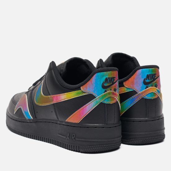 Мужские кроссовки Nike Air Force 1 07 LV8 Misplaced Swoosh Black/Multi-Color/Black