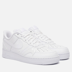 Мужские кроссовки Nike Air Force 1 07 LV8 Misplaced Swoosh White/White/White