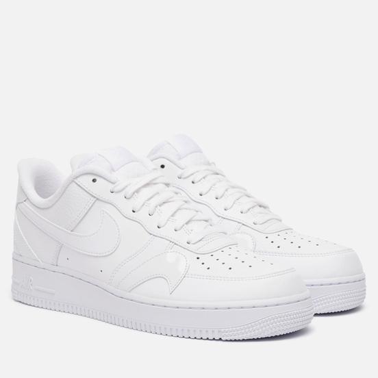 Мужские кроссовки Nike Air Force 1 07 LV8 Misplaced Swoosh White/White/White