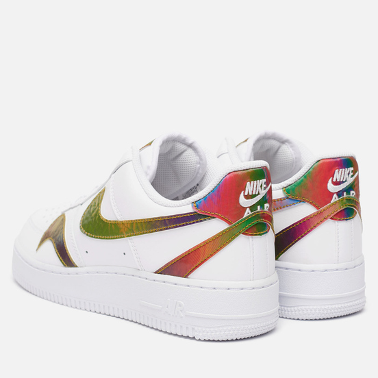 Мужские кроссовки Nike Air Force 1 07 LV8 Misplaced Swoosh White/Multi-Color/White