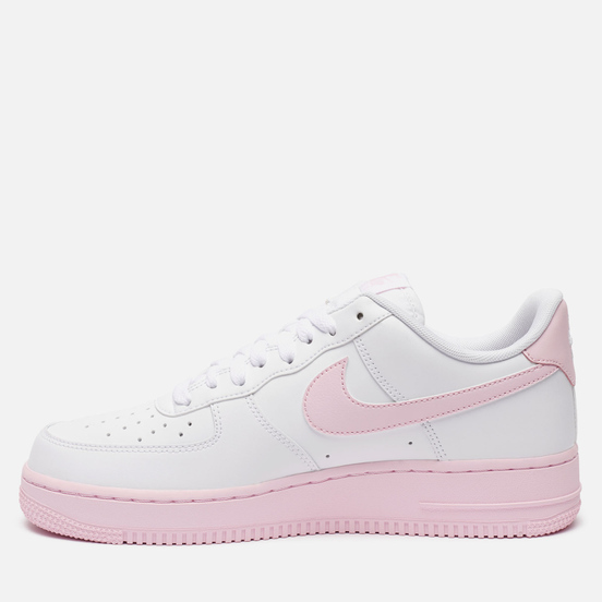 Мужские кроссовки Nike Air Force 1 Low Midsole White/Pink Foam