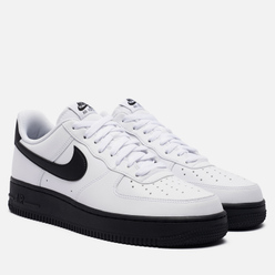 Мужские кроссовки Nike Air Force 1 Low Midsole White/Black