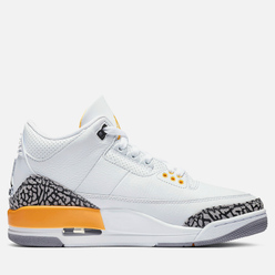 Женские кроссовки Jordan Air Jordan 3 Retro Laser Orange White/Black/Laser Orange/Cement Grey
