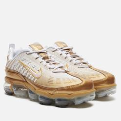 Мужские кроссовки Nike Air Vapormax 360 White/Metallic Gold/Black/Reflect Silver