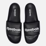 Сланцы Reebok Classic Slide Black/White фото- 4