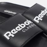 Сланцы Reebok Classic Slide Black/White фото- 5