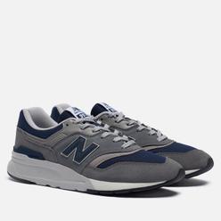 Мужские кроссовки New Balance CM997HAX Grey/Navy/Grey