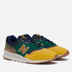 Мужские кроссовки New Balance CM997HVN Spruce/Gold