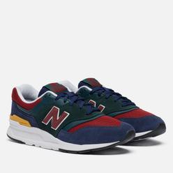 Мужские кроссовки New Balance CM997HVQ Green/Red