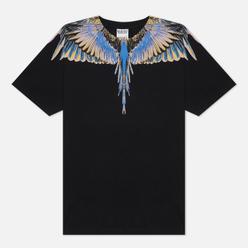 Мужская футболка Marcelo Burlon Wings Basic Black/Pink