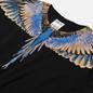 Мужская футболка Marcelo Burlon Wings Basic Black/Pink фото - 1
