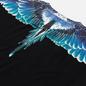 Мужская футболка Marcelo Burlon Wings Basic Black/Turquoise фото - 2