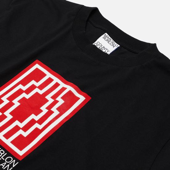 Мужская футболка Marcelo Burlon Rural Cross Basic Black/White