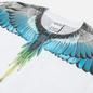 Мужская футболка Marcelo Burlon Wings Regular White/Light Blue фото - 1