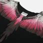 Мужская футболка Marcelo Burlon Wings Regular Black/Fuchsia фото - 1