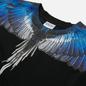 Мужская футболка Marcelo Burlon Wings Regular Black/Blue фото - 1