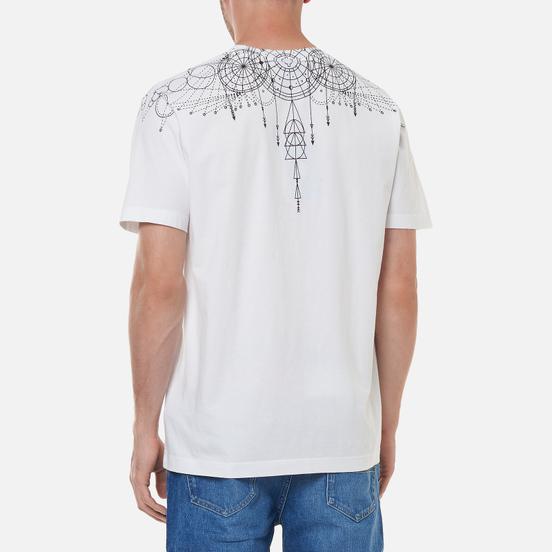 Мужская футболка Marcelo Burlon Astral Wings Regular White/Black