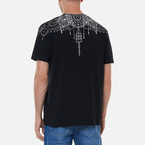 Мужская футболка Marcelo Burlon Astral Wings Regular Black/White
