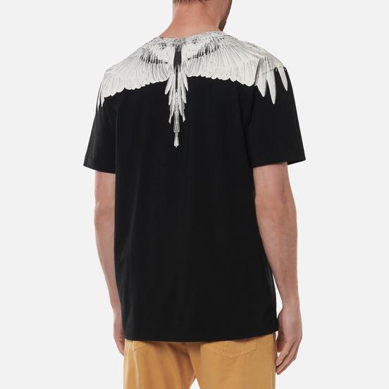 Мужская футболка Marcelo Burlon Wings Regular Black/White