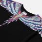 Мужская футболка Marcelo Burlon Birds Wings Regular Black/Light Blue фото - 1