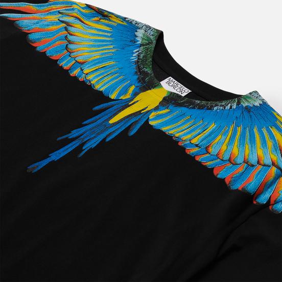 Мужская футболка Marcelo Burlon Birds Wings Regular Black/Blue
