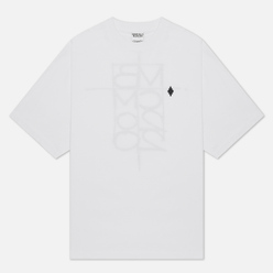 Мужская футболка Marcelo Burlon MBCM Over White/Black