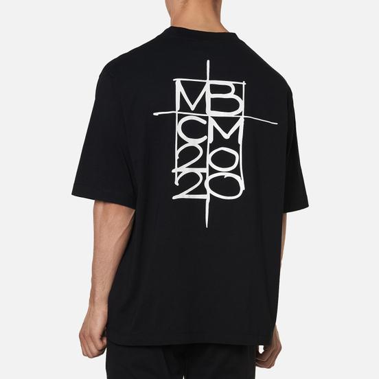 Мужская футболка Marcelo Burlon MBCM Over Black/White