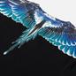 Мужской лонгслив Marcelo Burlon Wings Basic Black/Turquoise фото - 2