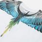 Мужской лонгслив Marcelo Burlon Wings Regular White/Light Blue фото - 1