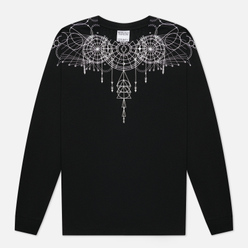 Мужской лонгслив Marcelo Burlon Astral Wings Regular Black/White